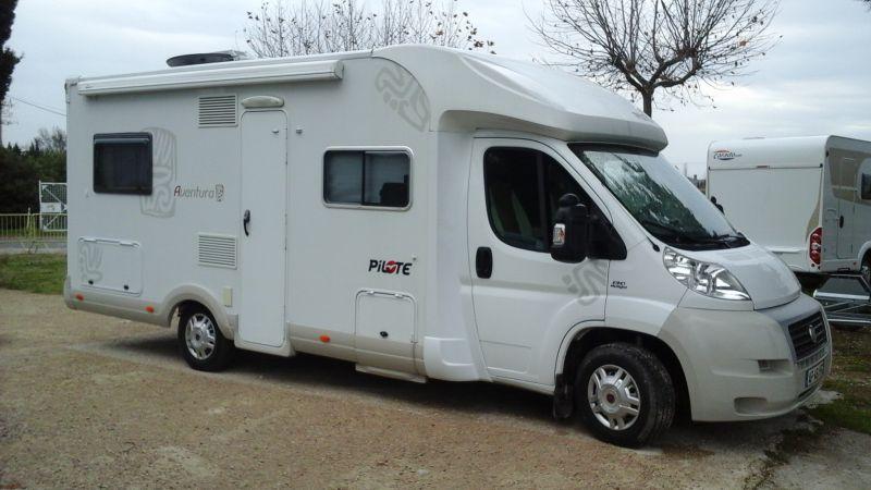Vend pilote p716 vente de caravanes lan on de provence midi 13 loisirs - Camping car salon de provence ...