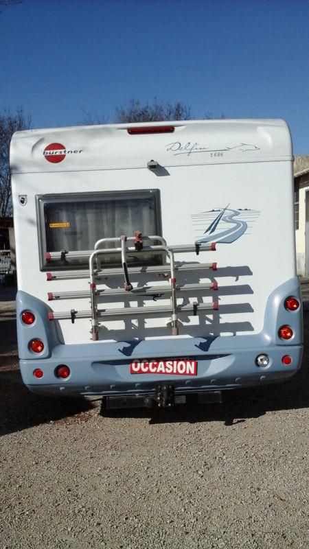 vend burstner t686 vente de caravanes lan on de provence midi 13 loisirs. Black Bedroom Furniture Sets. Home Design Ideas