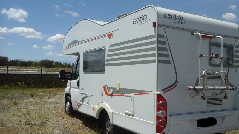 Vend camping car 4 places carado a160 vente de caravanes lan on de provence midi 13 loisirs - Camping car salon de provence ...
