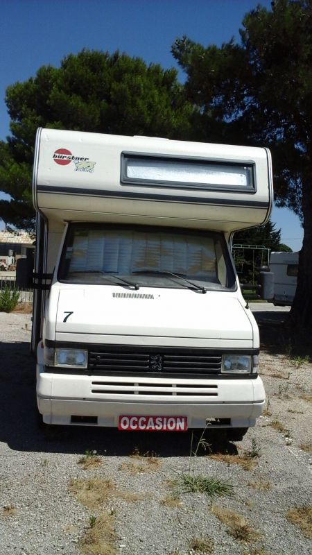 vend camping car capucine burstner a560 vente de caravanes lan on de provence midi 13 loisirs. Black Bedroom Furniture Sets. Home Design Ideas